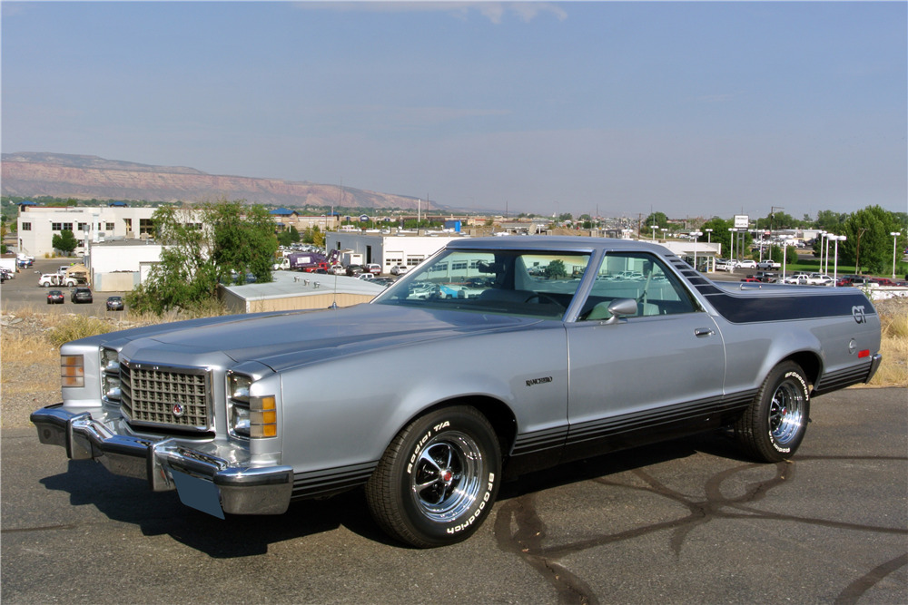1979 Ford Ranchero front 3/4