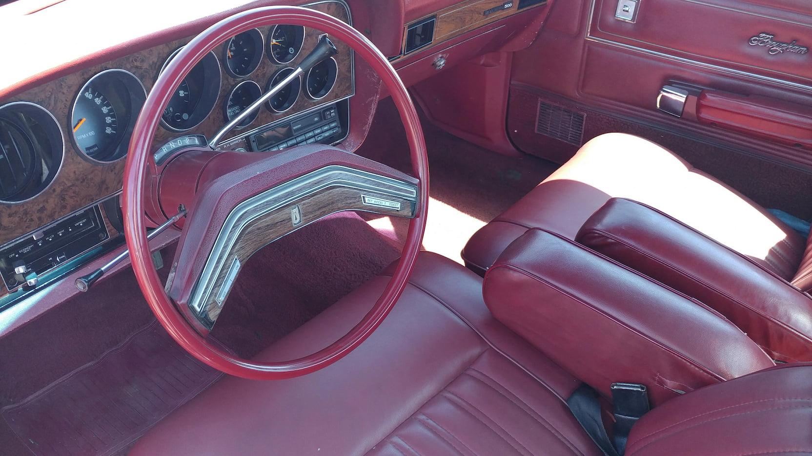 1979 Ford Ranchero interior