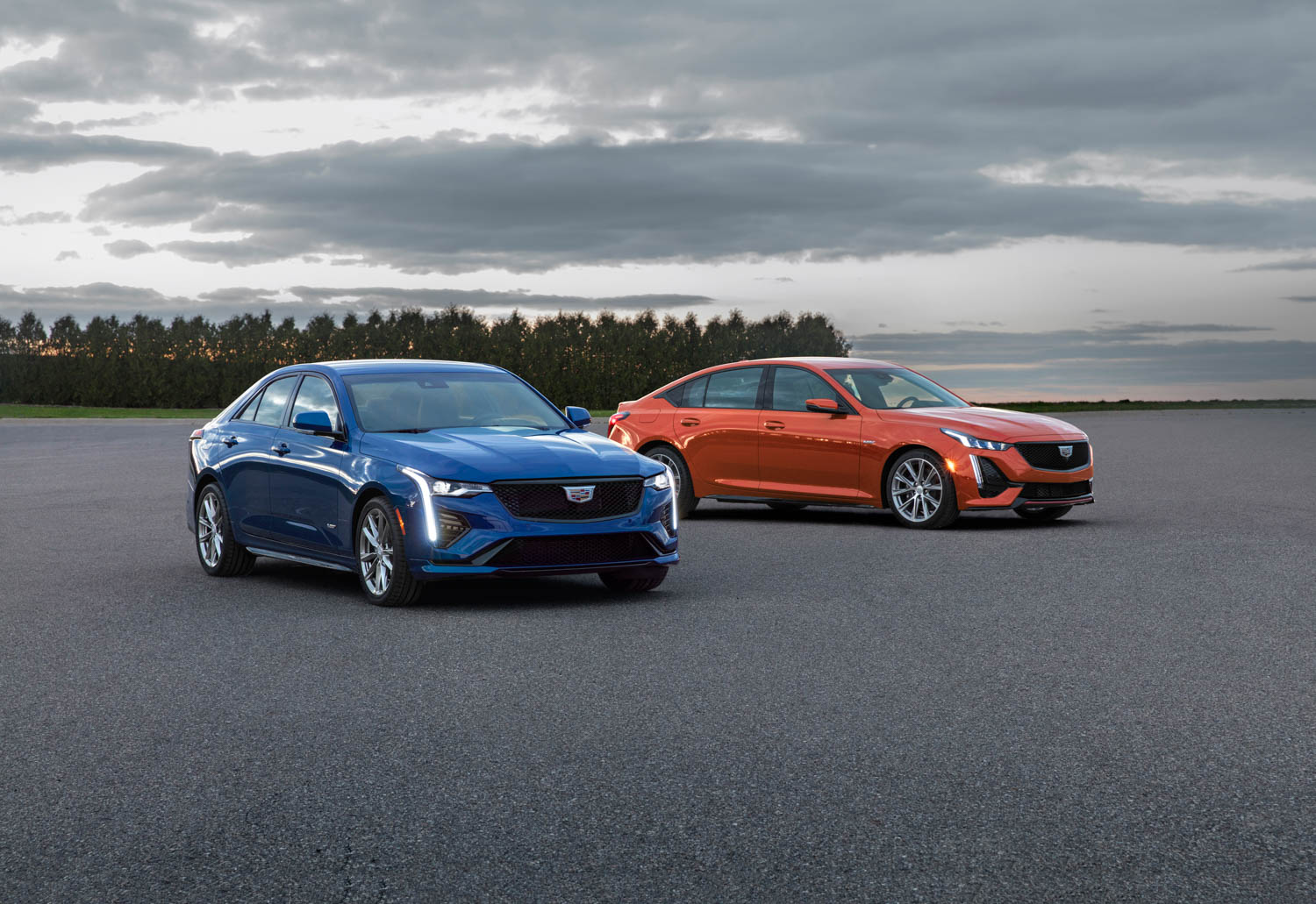 Cadillac reveals CT4-V and CT5-V, watering down its performance brand thumbnail