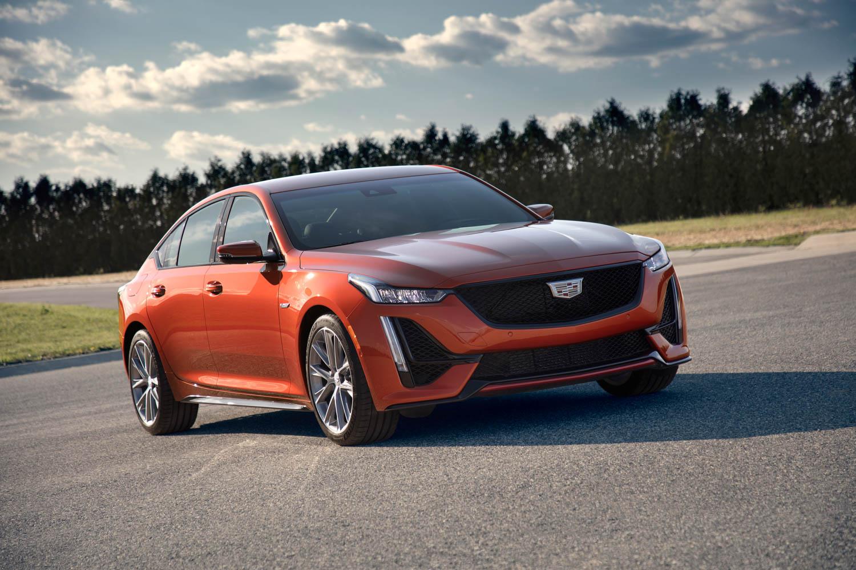 2020 Cadillac CT5-V front 3/4