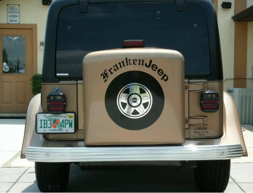 1999 Ballistic Automotive Designs Jeep rear