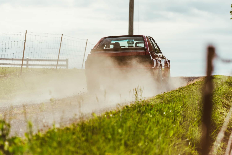 Kettler Motorsport Audi Quattro driving