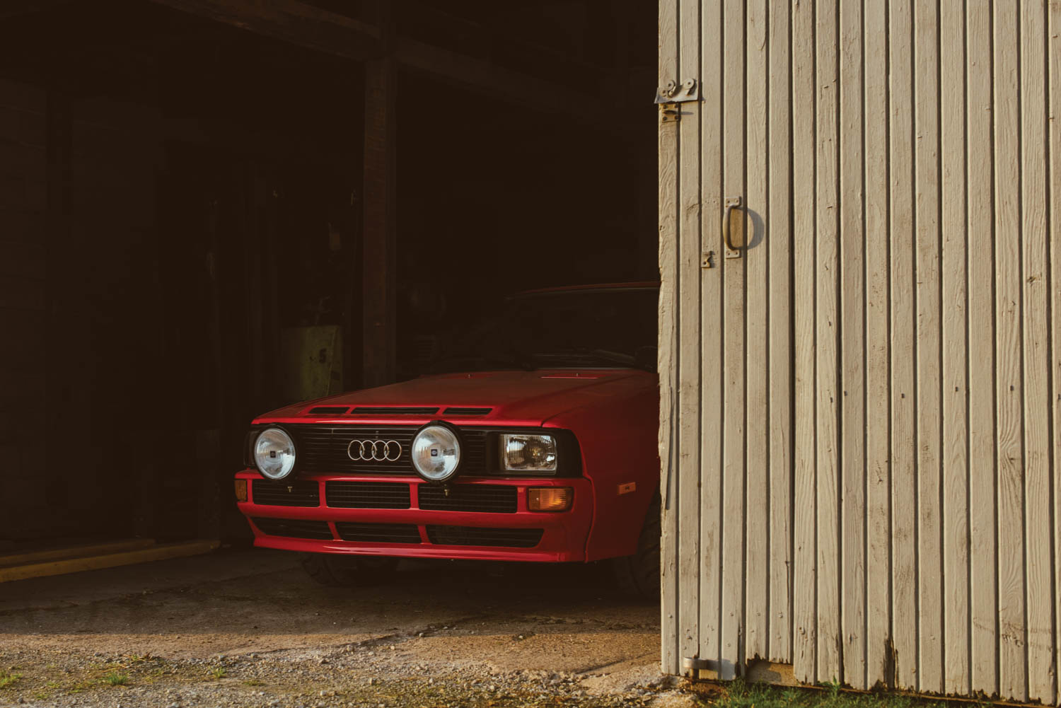 The Sport Quattro is the undisputed star of Audi's Group B rally heritage.