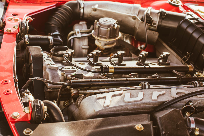 Kettler Motorsport Audi Ur Quattro engine