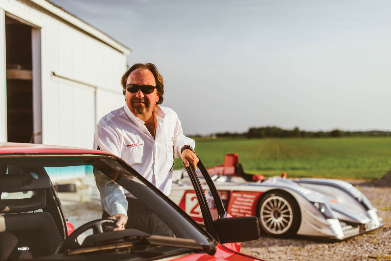 Brad Kettler keeps a low profile among fast company.