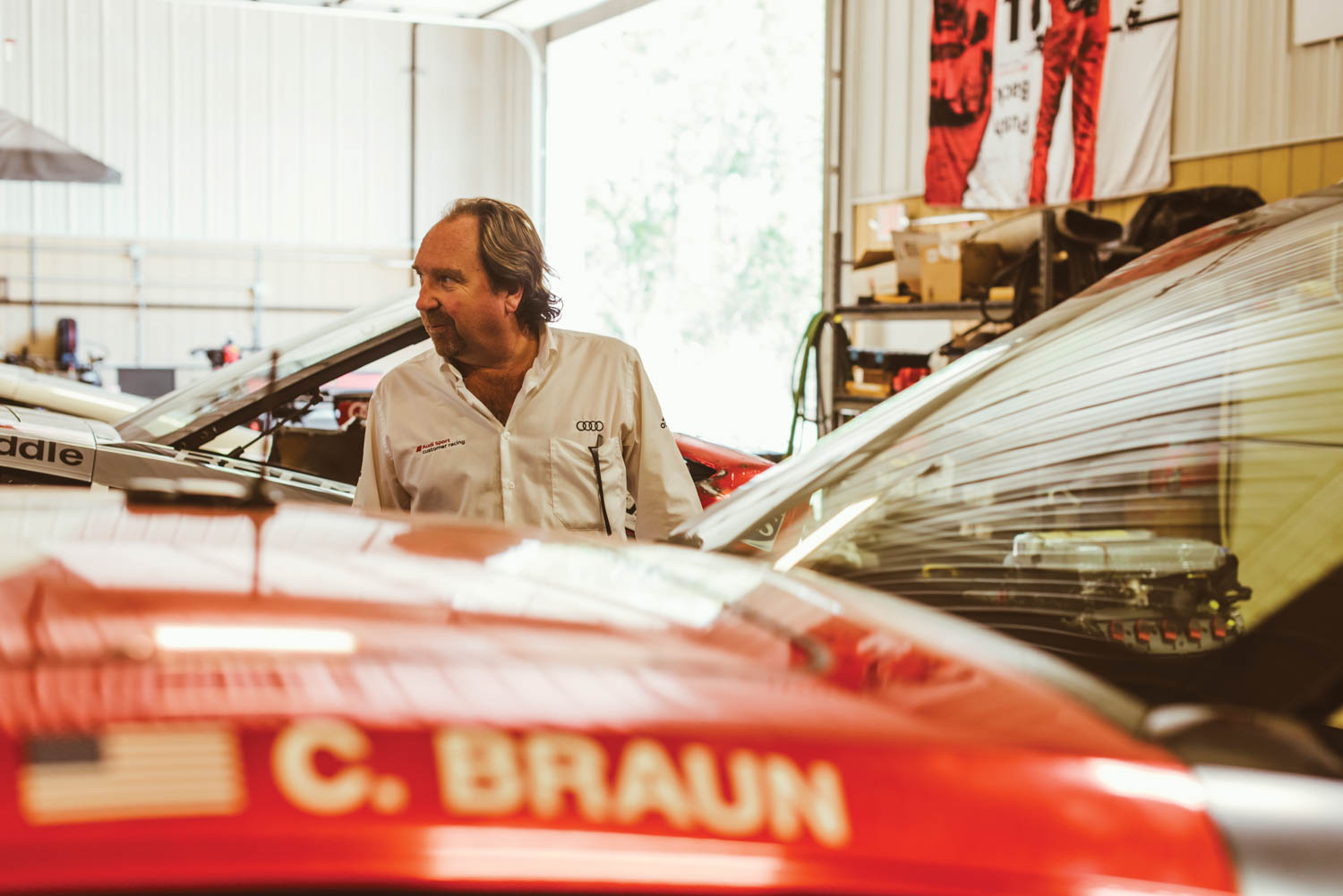 In his rural Ohio shop, Kettler wrenches on race cars, machines custom parts, and shares the wisdom he learned from Le Mans with the next generation of mechanics.