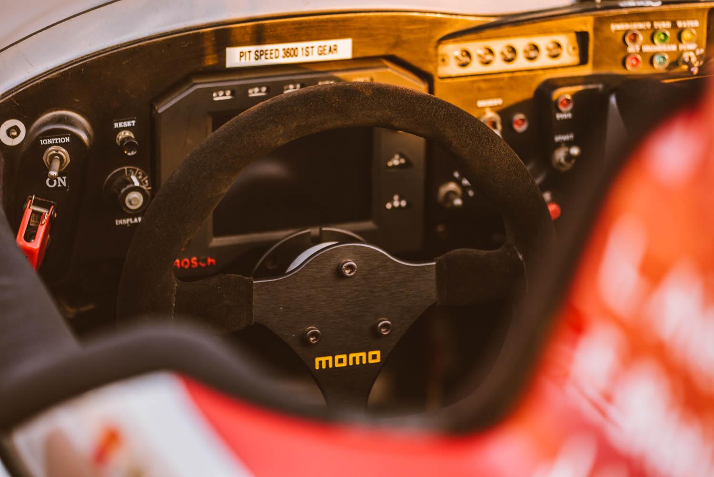 Kettler Motorsport steering wheel