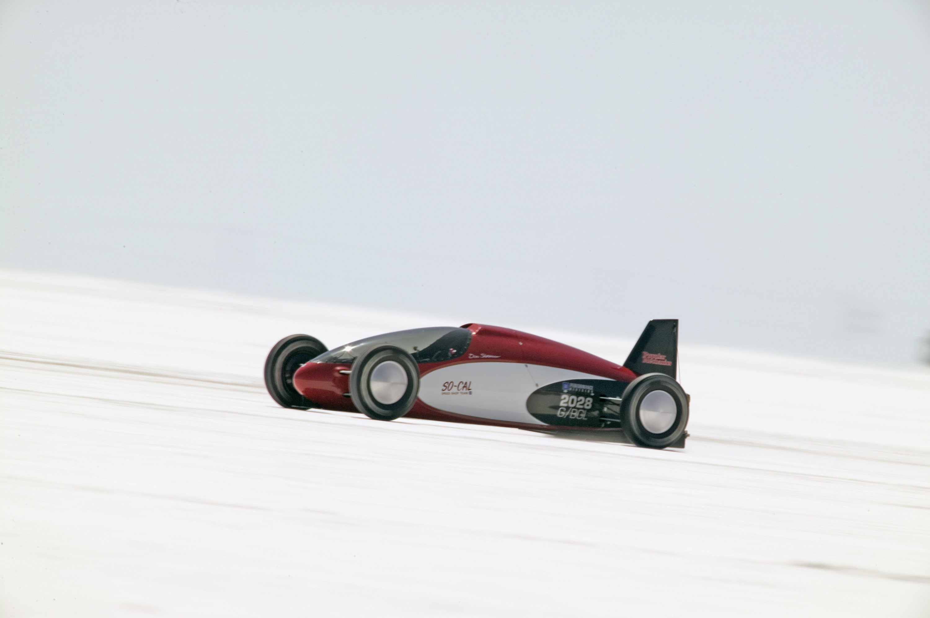 Ecotec Lakester at Bonneville