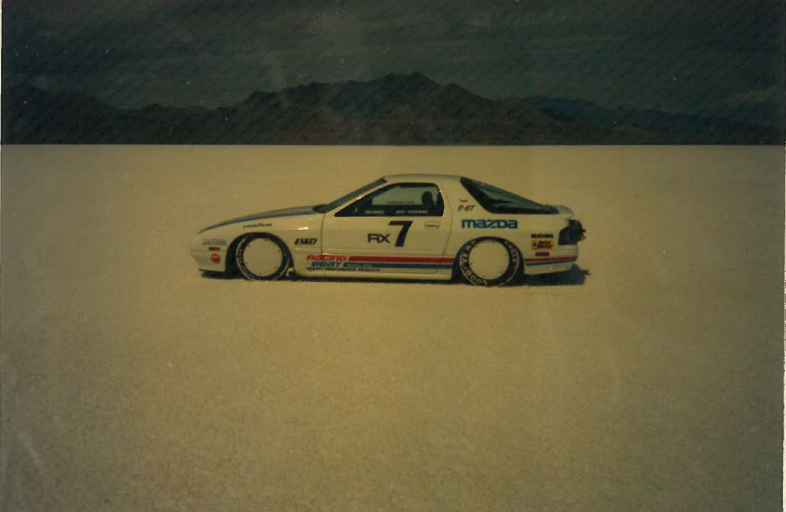 RX-7 at Bonneville