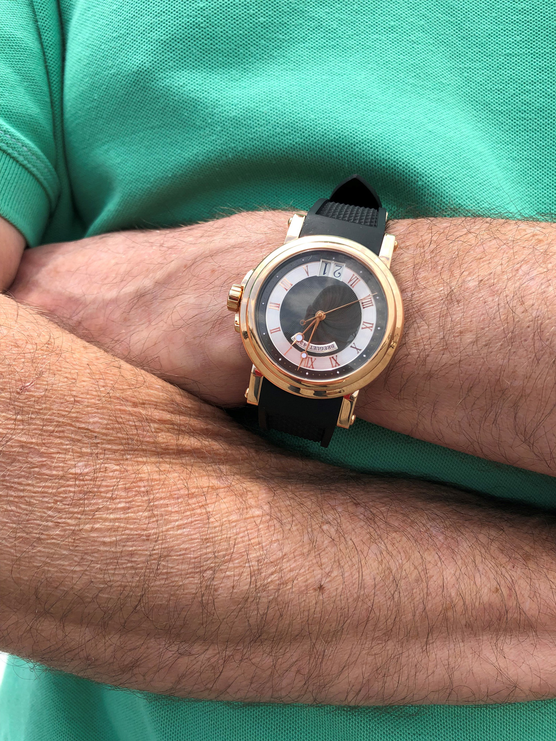 Jeff Bernard's watch
