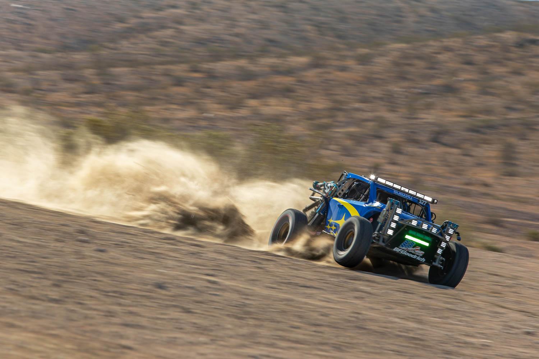 Subaru Crosstrek Desert Racer in the dirt