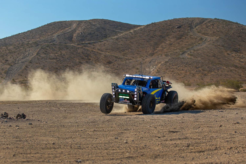 Subaru Crosstrek Desert Racer dirt drifting
