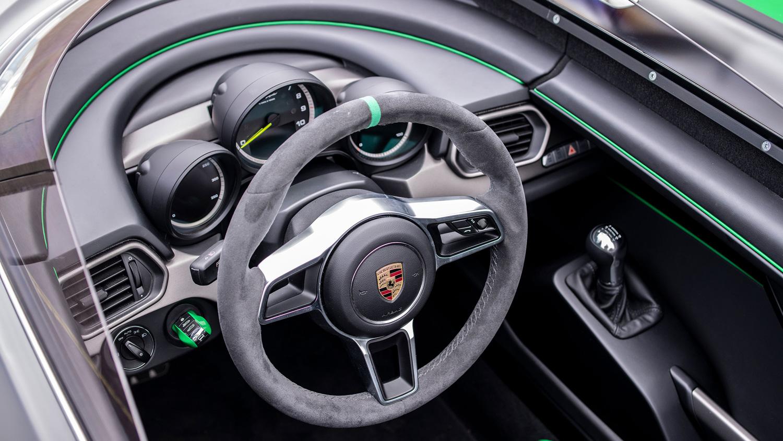 2019 Porsche Boxster Bergspyder interior