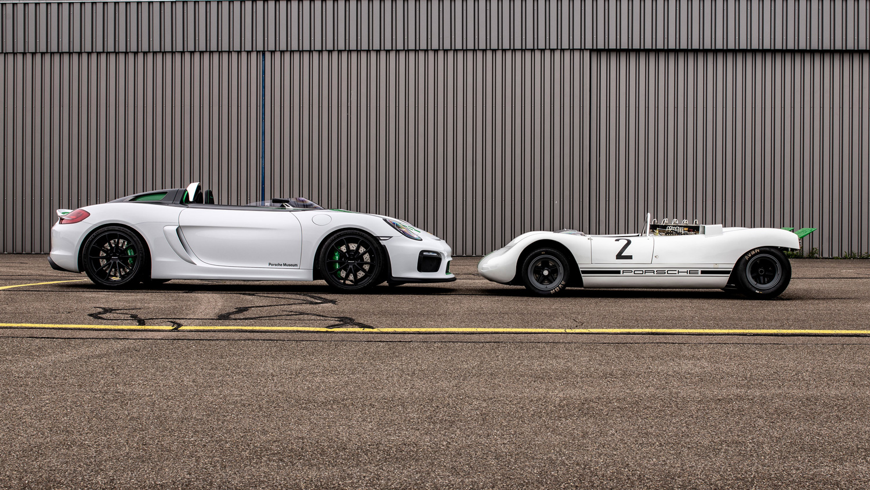 2019 Porsche Boxster Bergspyder and Porsche 909