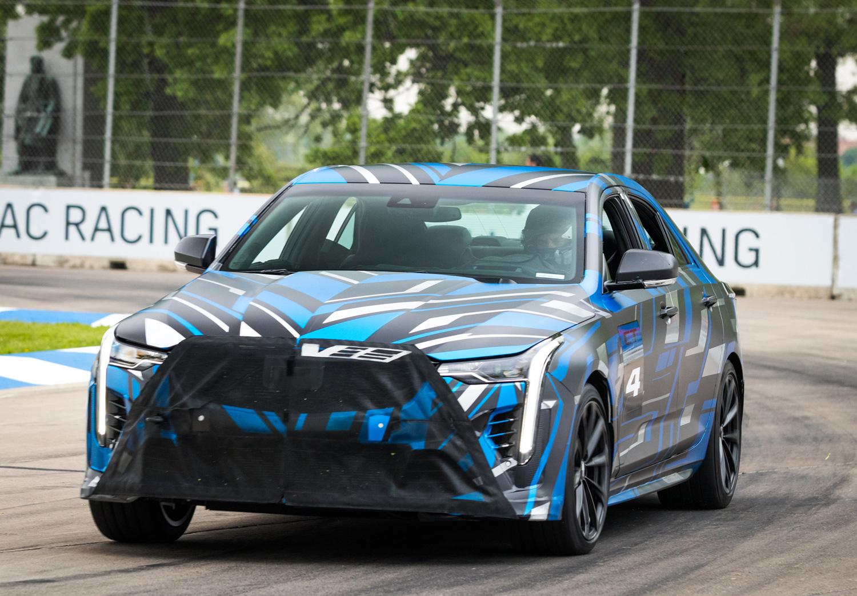 Cadillac CT4-V future prototype