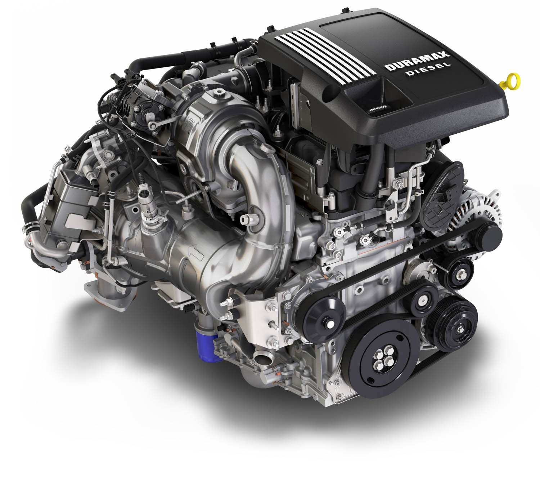 2020 Chevrolet Silverado Diesel Duramax engine