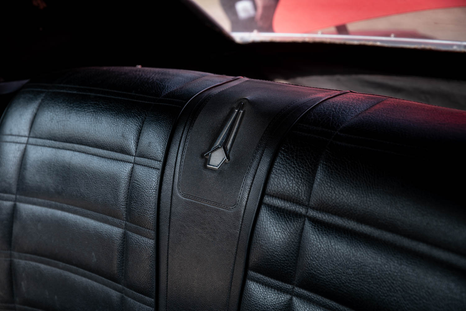 1969 Plymouth GTX back seat