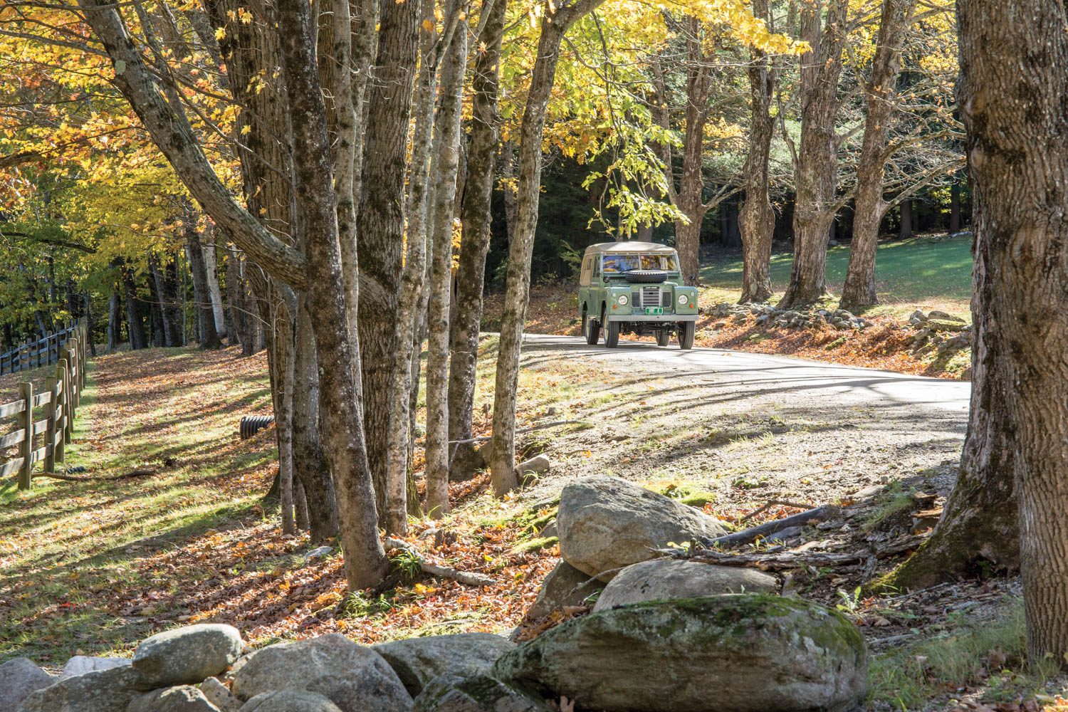Land Rover in Vermont