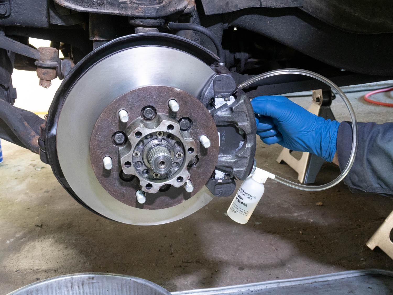 Valve Kit //Bleeder Screw Repair Kit for Brake Caliper,for Motorcycle Car