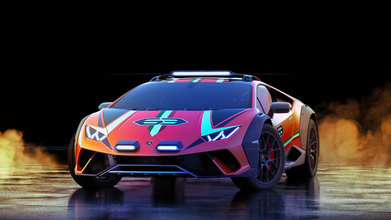 Lamborghini Huracán Sterrato front 3/4