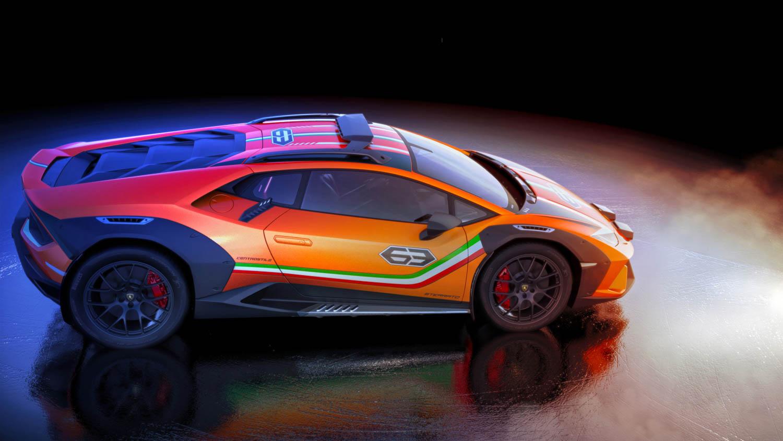 Lamborghini Huracán Sterrato profile