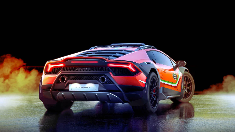 Lamborghini Huracán Sterrato rear 3/4