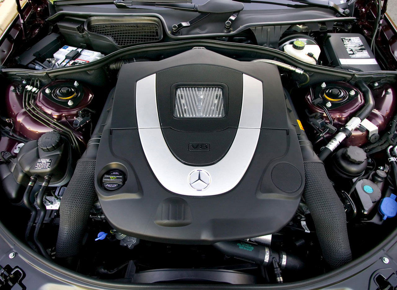 2007 Mercedes-Benz S550 engine