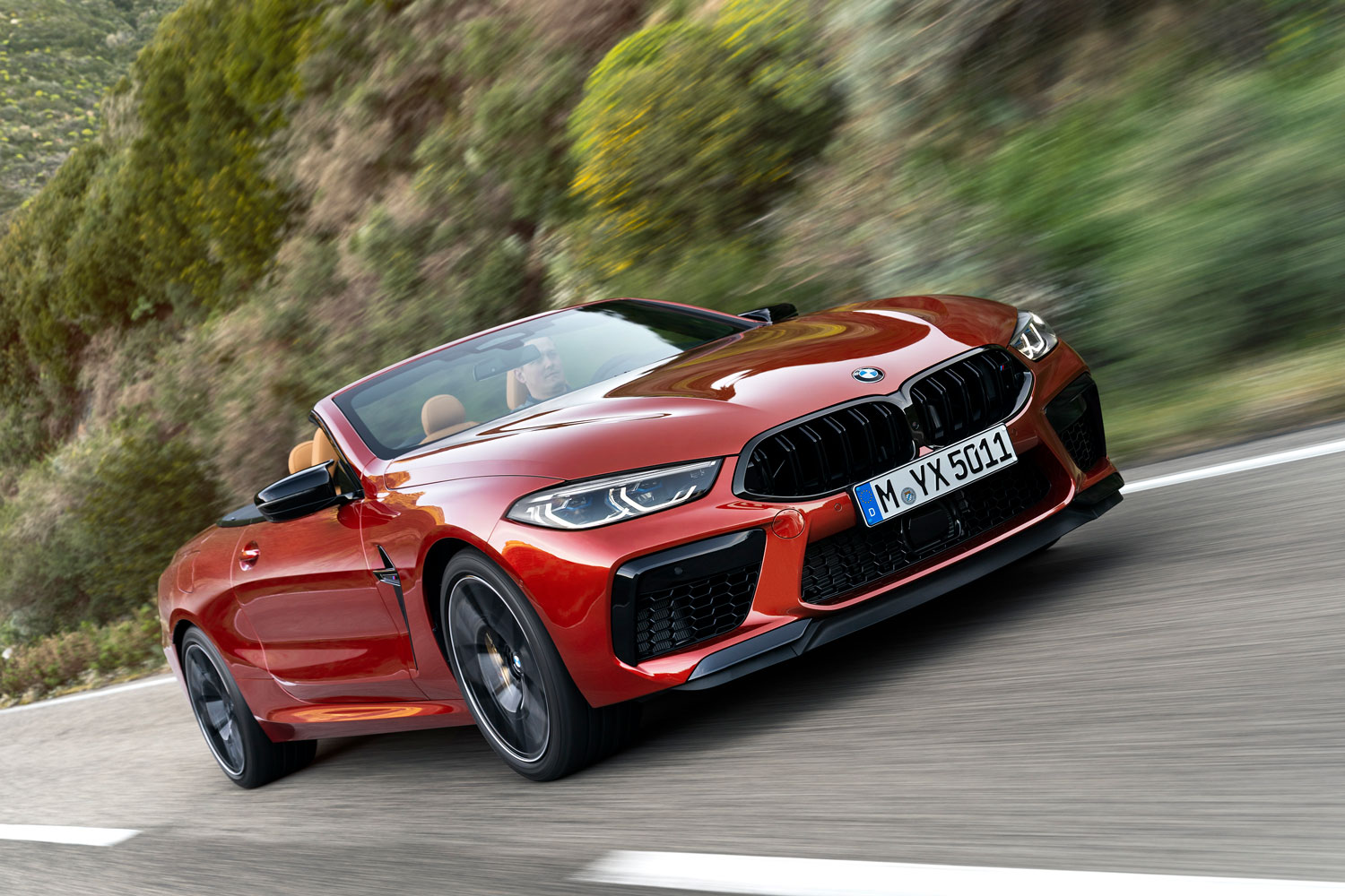 BMW M8 Competition Convertible Exterior