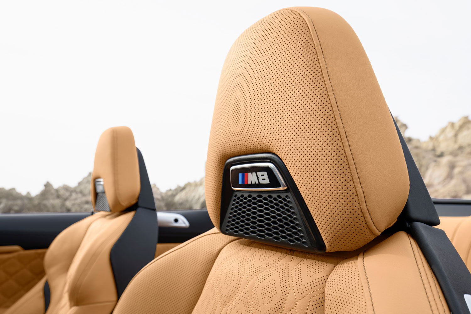 BMW M8 Competition Convertible Interior Detail