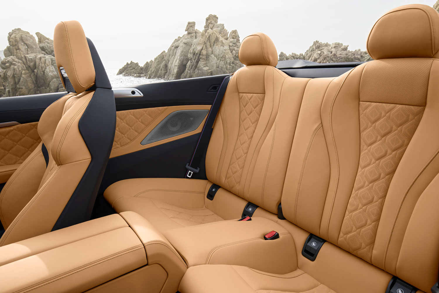 BMW M8 Competition Convertible Interior