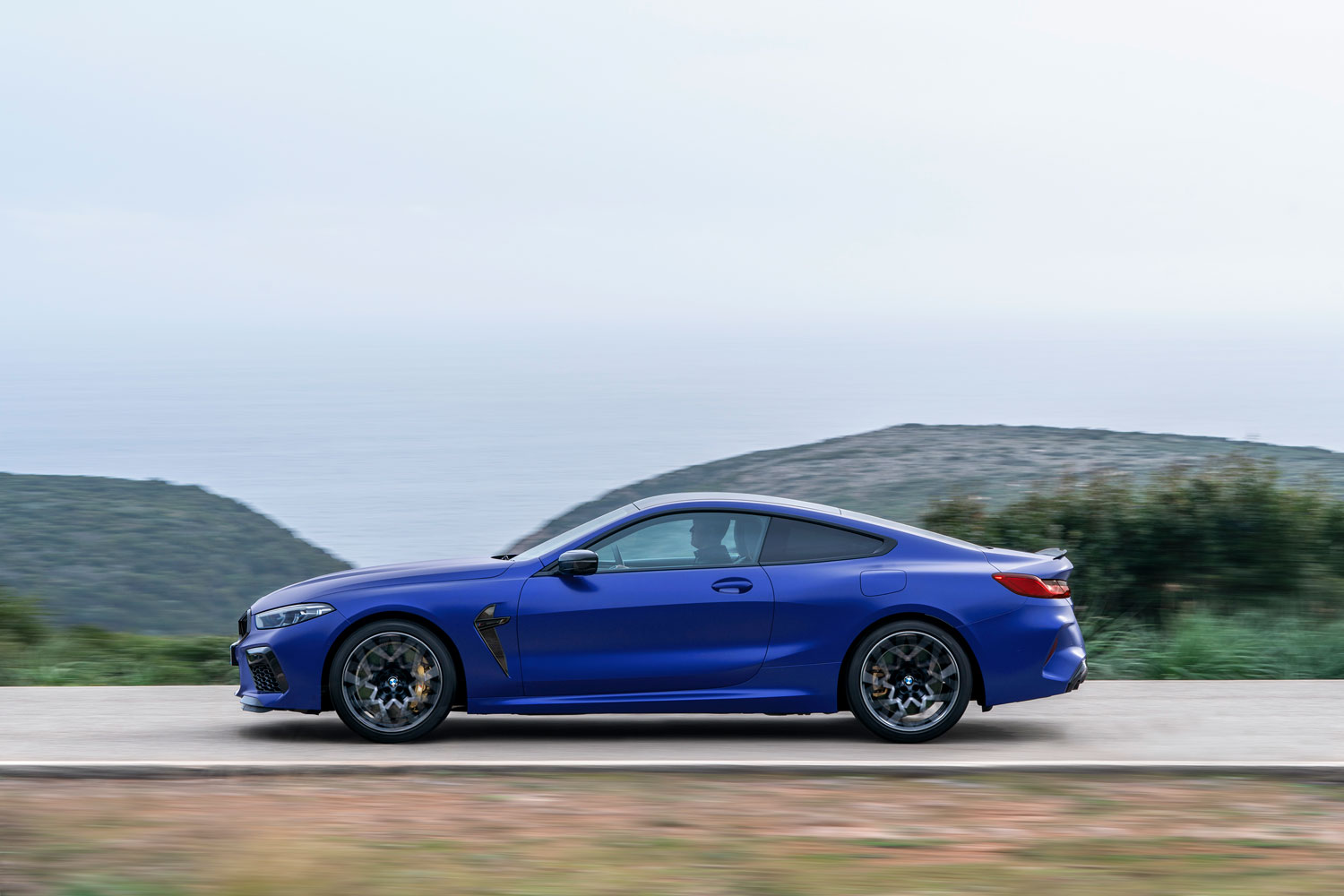 BMW M8 Competition Coupe Side View
