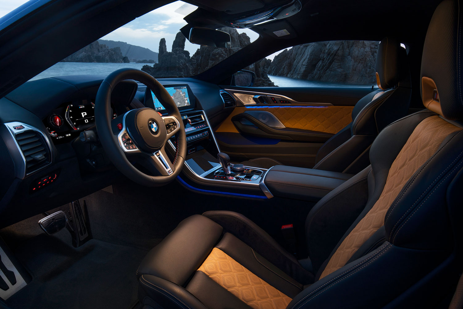 BMW M8 Competition Coupe Interior