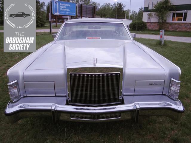 The 1979 Lincoln Continental Mark V Was A Designer's Delight