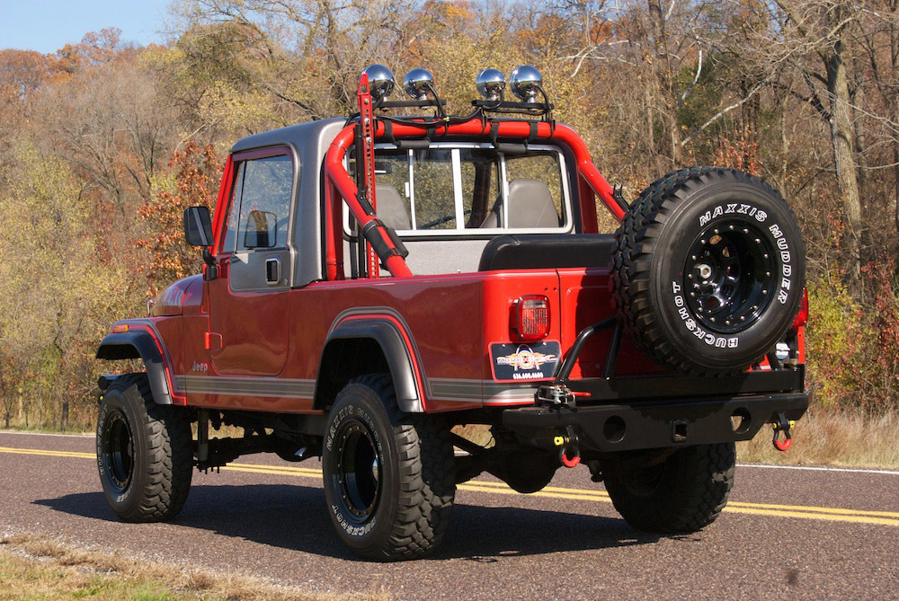 1981 Jeep CJ-8 Scrambler