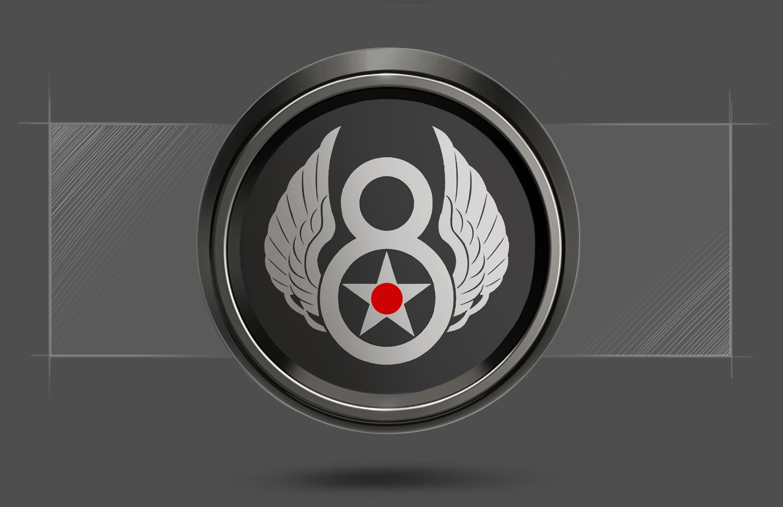 Old Crow Mustang GT Decklid Badge