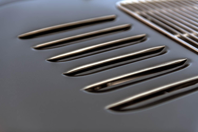 Emory Motorsports Porsche 356 RSR hood vent detail