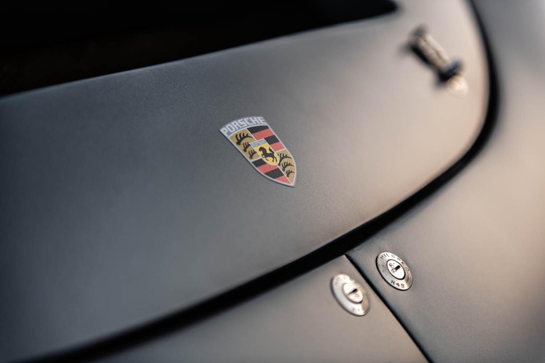 Emory Motorsports Porsche 356 RSS Badge