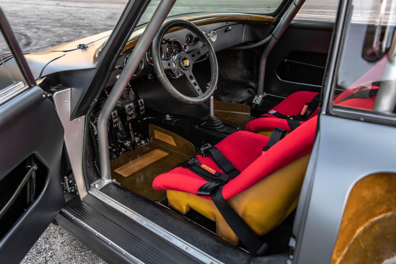 Emory Motorsports Porsche 356 RSR interior