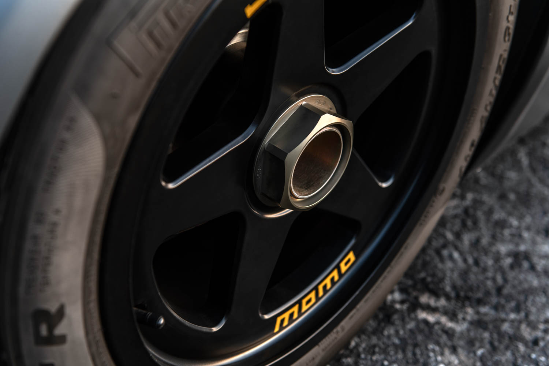 Emory Motorsports Porsche 356 RSR wheel detail