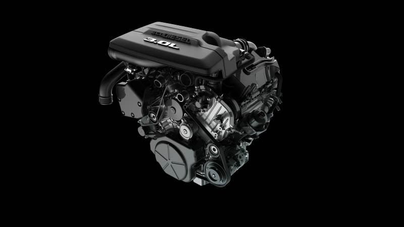 2020 RAM 1500 EcoDiesel engine