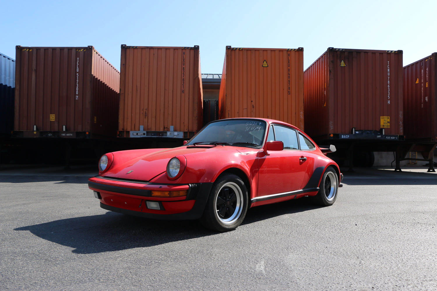 West Coast Shipping porsche 911