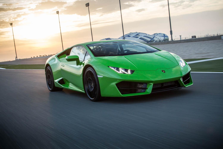 Lamborghini Huracan front 3/4