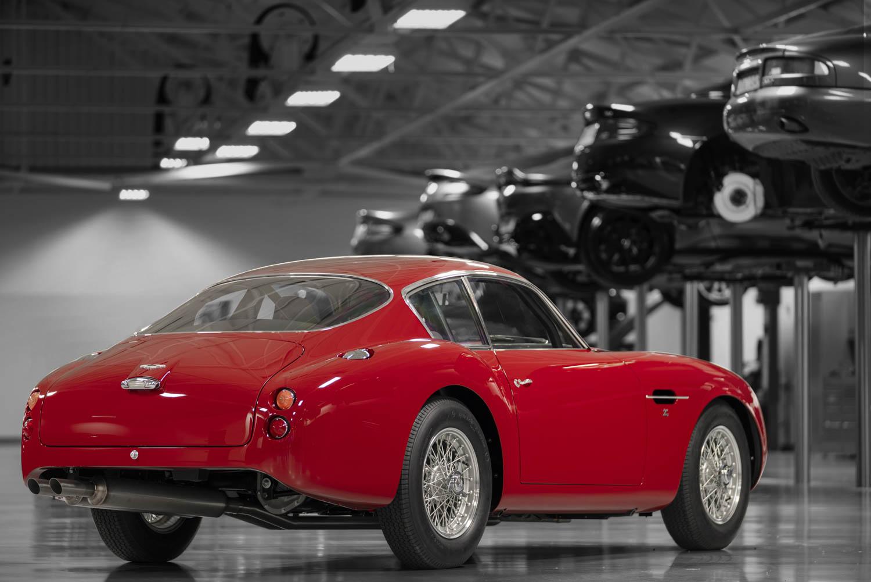 Aston Martin DB4 GT Zagato Continuation rear 3/4