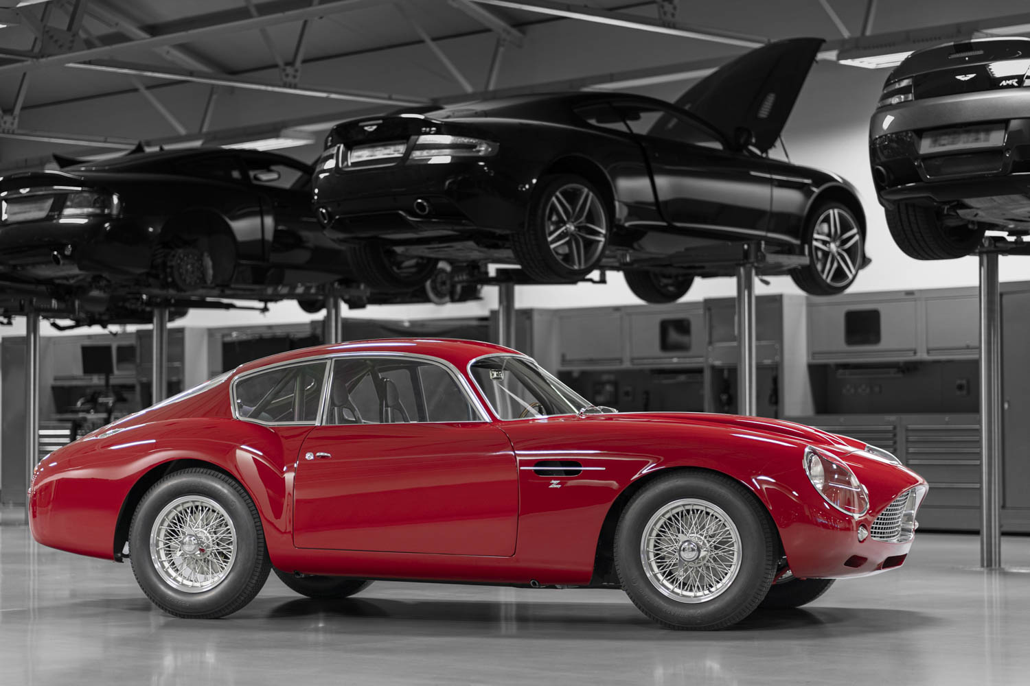 The Aston Martin DB4 Zagato Continuation deserves track action thumbnail