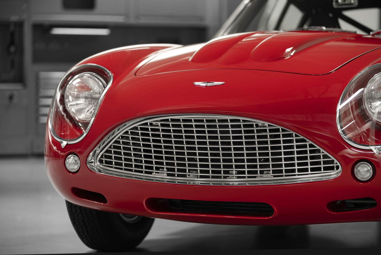 Aston Martin DB4 GT Zagato Continuation grille