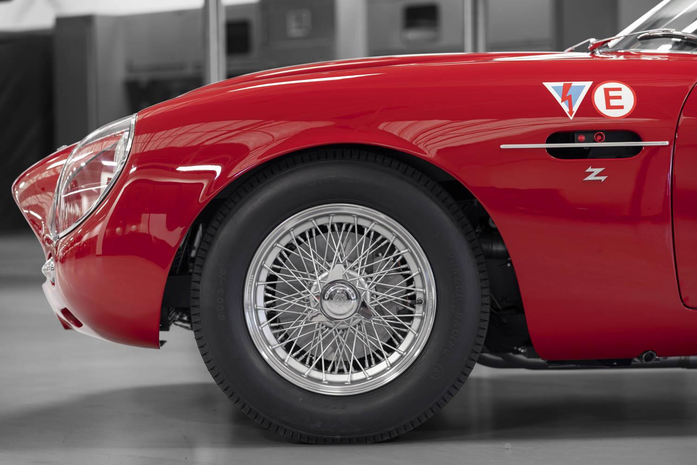 Aston Martin DB4 GT Zagato Continuation wheel detail