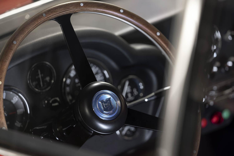 Aston Martin DB4 GT Zagato Continuation steering wheel