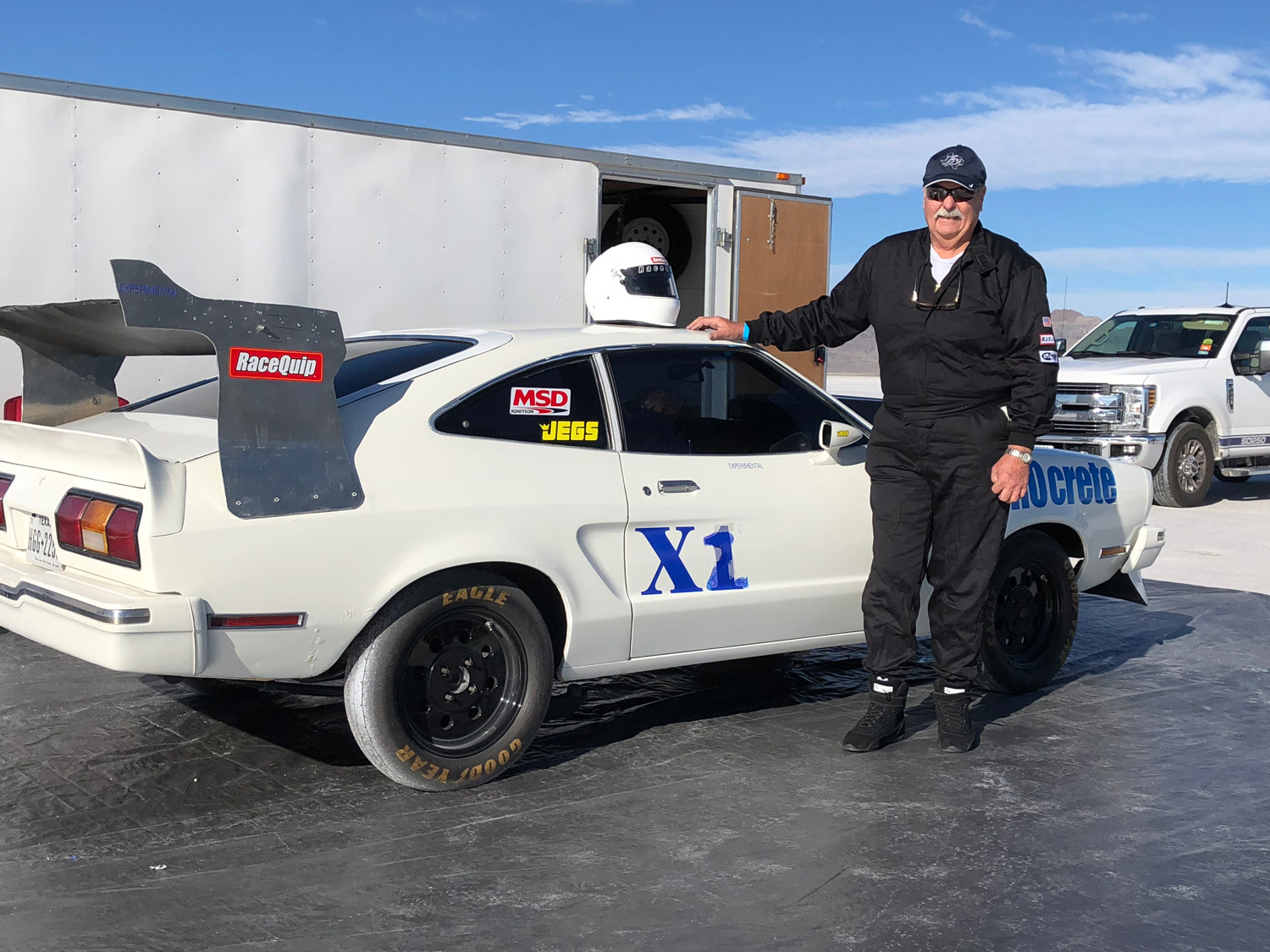Taming the wind with a land-speed-racing Mustang II thumbnail