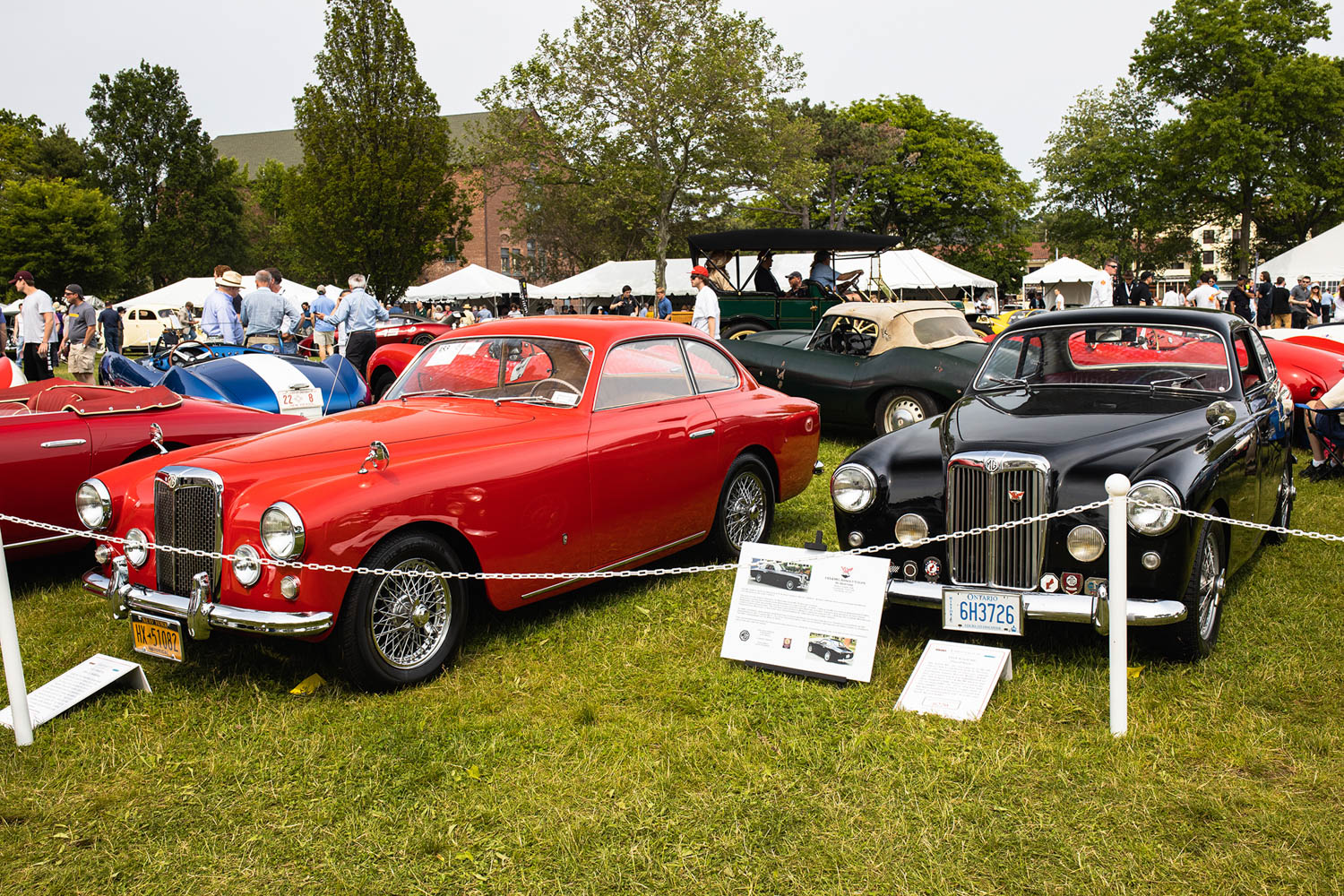 pair of Arnolt-MG