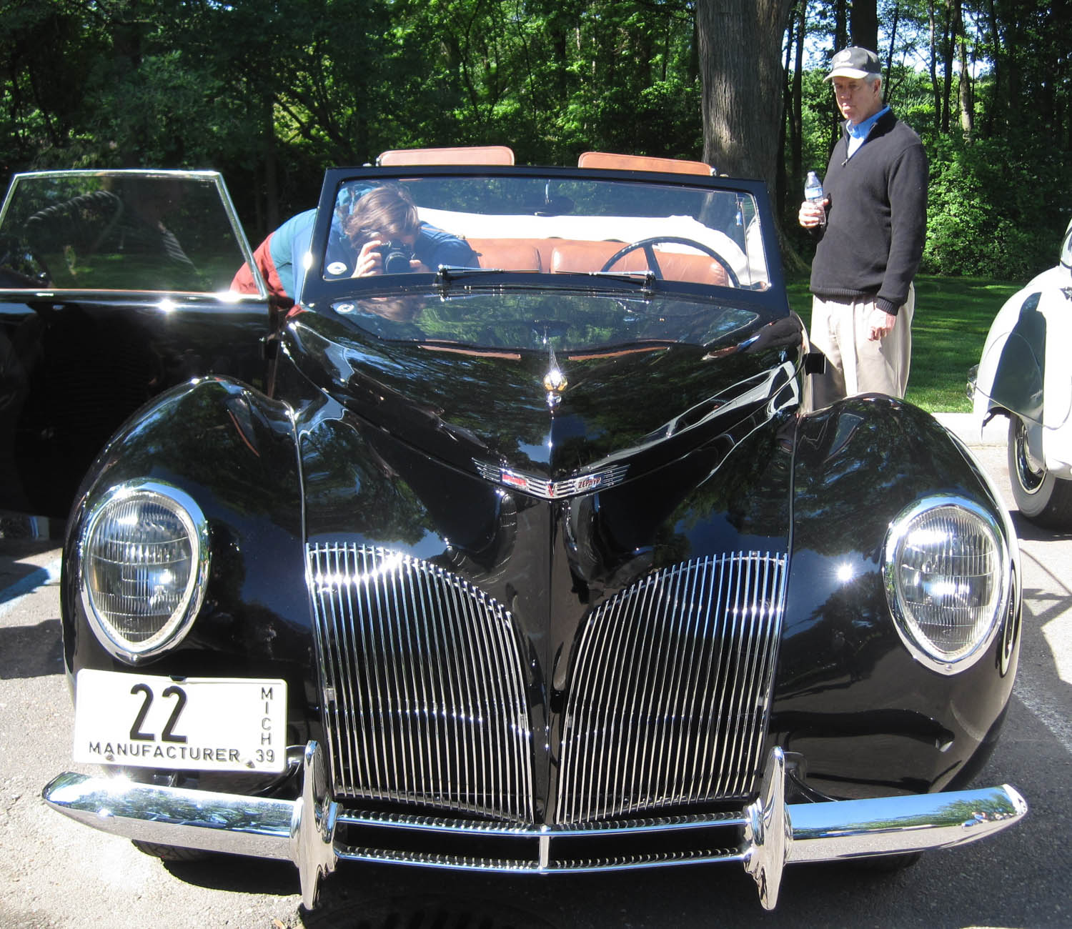 1939 Lincoln Continental prototype front